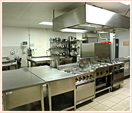 commercial kitchen plumbing
